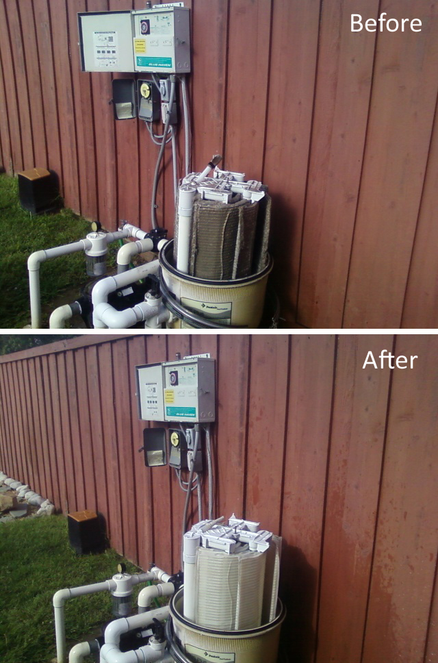 De Pool Filter Cleaning 101 In Sachse Wylie And Murphy