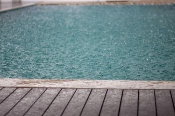 Let's Talk Rain and Pool Chemicals