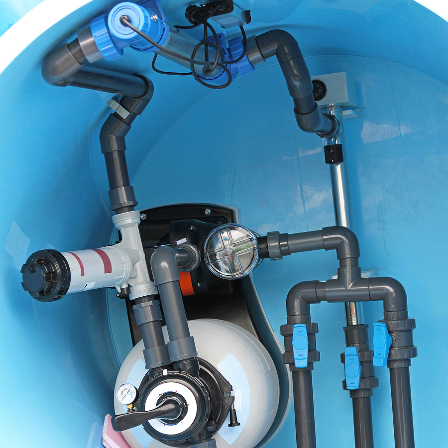 a photo of a swimming pool pump