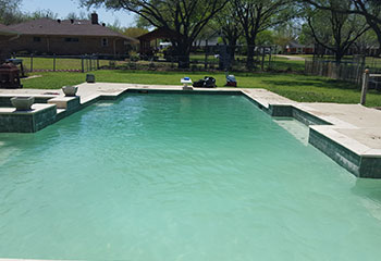 New homeowner contacted us for pool clean up