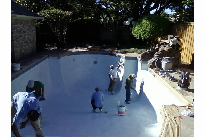 Before And After Photos Of A Total Pool Renovation