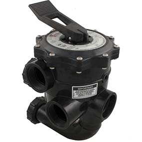 swimming pool multiport valve manufactured by Hayward