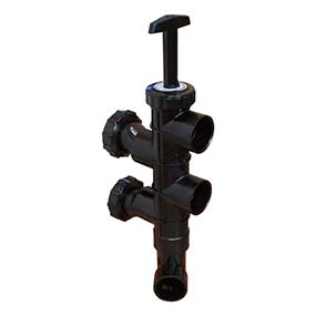 swimming pool slide valve manufactured by Hayward