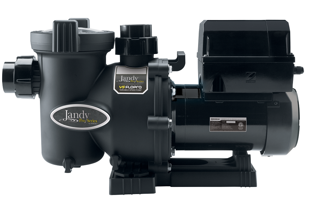 FloPro swimming pool high flow pump manufactured by Jandy