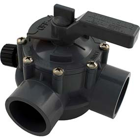 swimming pool three way valve manufactured by Jandy