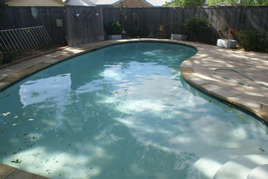 Pool Renovation Finished