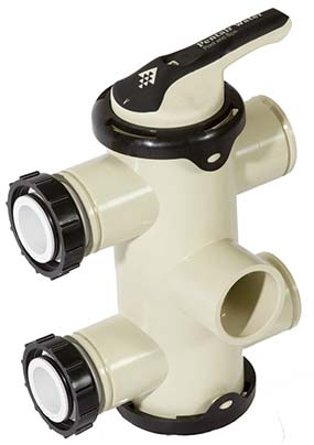 FullFlo swimming pool backwash valve manufactured by Pentair