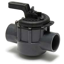 swimming pool diverter valve manufactured by Pentair