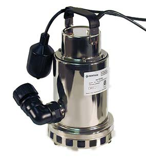swimming pool submersible pump manufactured by Pentair