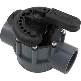swimming pool two way valve manufactured by Pentair