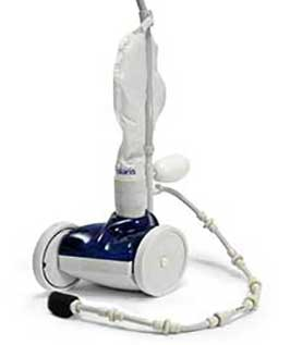 Automatic robotic swimming pool cleaner manufactured by Hayward